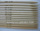 """.Bamboo Double Pointed Knitting Needles 20cm/8"""" long set of 5"""