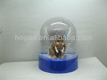 resin elephant water dome,animal snow globe