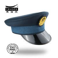 Cheap flat top military cap