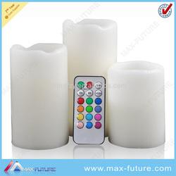 Color change LED candle set