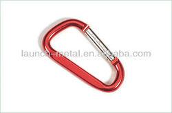 Aluminium D Hook/Carabiner Climbing Hook/Baby Stroller Hook