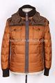 venta al por mayor de color marrón de la moda de ropa de abrigo
