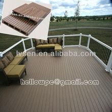 anti termite Wood Plastic composite decking floor
