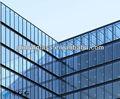 De alta calidad de paneles de vidrio reflectante tamaños estándar, refleja la luz del sol en la ventana de vidrio