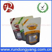 Customized flexible laminated plastic zip lock pouches