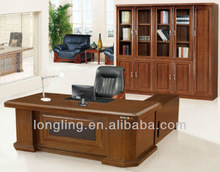 LD-2038 stylish office table and file cabinet