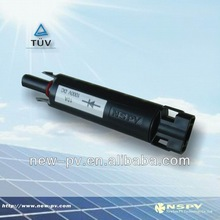pv 4.0 diode cable molding removable with cable solar diode solar diode connector