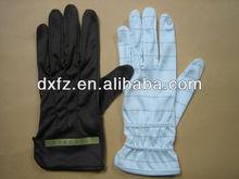 microfiber jewellery cleaning glove/ jewellery handing gloves