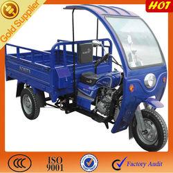 Three wheeler cargo motor with simple cabin