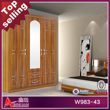 W983 hot-selling and modern hotel bedroom furniture five doors
