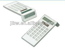 8 digital solar power double display desk Calculator
