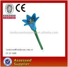 Manufacture Promotional Flower Shaped Plastic Pen, Ball pen