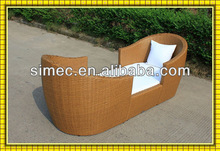 factory hotsale good quality SGS HDPE rattan wicker conversation set SCTC-047
