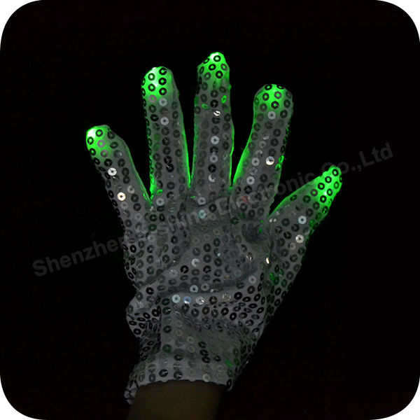 High quality Multicolor Magic Light Up Gloves