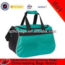 2015 new fashion zipper sports travel bag duffel bag/outdoor polyester sports bag