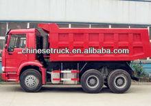 Steel Cabin for comfortable drive 6x4 dump truck
