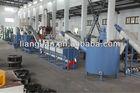waste plastic film washing crushing drying recycling machine