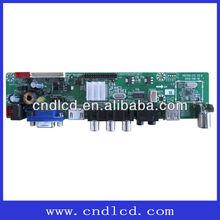 TV Board Max Supports FULL HD 1920X1080 Resolution TFT-LCD Screen 1*USB,suports Audio(MP3,WMA),Video(AVI,RM,RMVB MPEG1~4)
