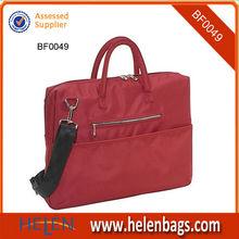 2013 Newest Design Ladies Red Laptop Bag