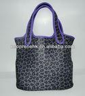 Waterproof neoprene tote bag for ladies