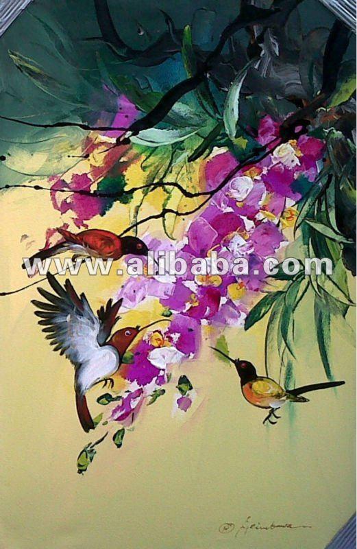 abstracto de aves