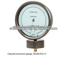 Highest-accuracy negative pressure measurement 612.11