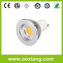 2013 Hot Sell Sharp LED COB GU10 Dimmable 5W COB LED Light