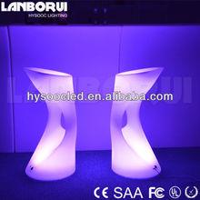 LED bar stools, led bar table, led furniture