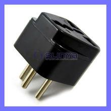 Universal USA UK AUS Euro to Swiss plug adapter Switzerland AC Power Plug
