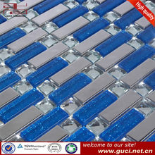 With small MOQ Mirror glass mosaic tile