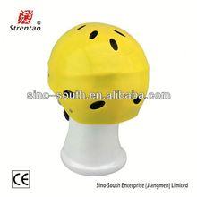 Yellow ce 1385 helmet mini cam sport helmet