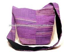 Boho Hippie Cotton Handmade Handbag cross body Shoulder Bag India