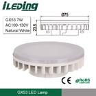 100-130V 7W GX53 LED Bulb 4000K