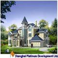 préfabriqués villa de style europe