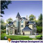 Prefabricated Villa of Europe style