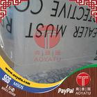 PE transparent 100 micron plastic film