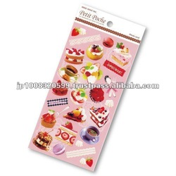 Petit Poche Sticker Sweet _ dessert _ sticker printing _ stationery item _ handmade _ japanese sticker