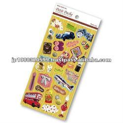 Petit Poche Sticker World _ sticker printing _ stationery item _ handmade _ japanese stickers