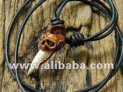 Tribal Skull Pendant