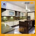 nova acrílico armário de cozinha material de alta assegurada