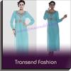 Professional factory supply musim dress women baju dress