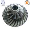 Aluminum alloy compressor impeller for gas generator parts
