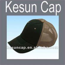 Plain custom cotton and polyester trucker hats