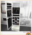 branco armário de jóias mirror peito de gaveta