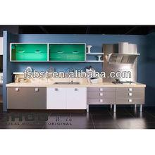original open kitchen design, kitchen island,AK2869,Germany PVC