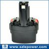 HOT! 9.6V 3ah Ni-MH Cordless drill Battery for Bosch PSR 960 GSR 9.6 23609 32609 32609-RT BAT048 BAT100
