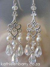 Kelly Chandelier Earrings wedding bridal jewellery