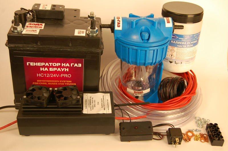 Электролизер из аккумулятора