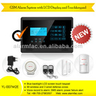 Wireless gsm home intruder alarm with English/Spanish/French/Russia language--YL-007M2E