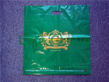 die cut LDPE plastic shopping bag